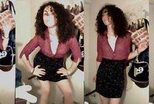 My curly hair