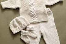 Tricô e crochê para bebê