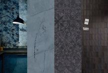 Black & Blue / While black is always in style, intense blacks with matte finishes are making a strong statement this year. Meanwhile, blue – which has been popping up everywhere this year from fall fashion shows to hair color – is taking the tile industry by storm, expanding beyond last year's marine palette to include dusty, vibrant, and sophisticated hues of blue.