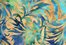Batik / Batik is a hallmark of Indonesia. Indonesian batik in a wide variety of patterns, colors and designs.