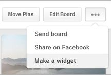Social Media How-Tos / Help and information for using Pinterest and other social media platforms.