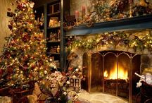 Christmas Extravagance / Everything Christmas from decorating to trees, wreaths and mantels to food and more.