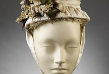 a_Victorian (1860-1875) - Hats-2 / Shows various headwear - hats, day caps, and hair pieces. / by Bess Chilver