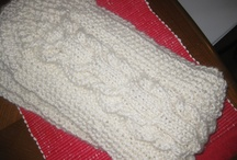 Knitting / Items I have been crafting. Great when relaxing and watching TV.