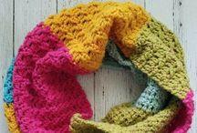 Yarn Cake Crochet Patterns / Crochet patterns using self striping yarn cakes. Bernat pop, Caron Cake, Mandala, Sweet Roll