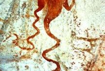 prehistoric - cave painting and petroglyph
