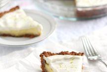 Desserts / Lime tart