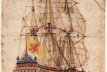 Sailing ships art