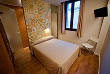 Hostal Mare Nostrum / These are our new rooms! Do you like the AMAZING change they have made? :)