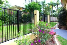 Pool Fences / WE are specialists in glass and railing pool fences. We have a purpose built factory that allows us to create the perfect pool fence from both aesthetic look and also compliance matters.