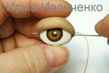 Ojos para muñecos