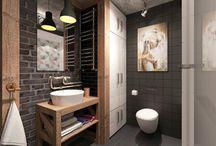 Beautiful apartment bathrooms