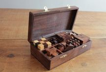 Wooden Games / Beautiful solid wooden games and puzzles.