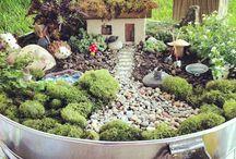 ideas fairy mini gardens
