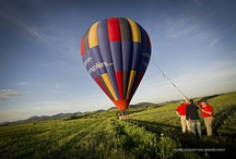 Hot Air Balloon flights Burgundy / Take a flight over the beautiful Burgundy countryside. See the vineyards from the air.