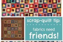 Scrap-quilt tips