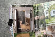 Altered book: project huis