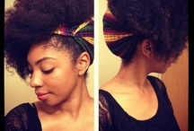 Natural Hair Updos  / The inspiration for my 30 Updos hair challenge