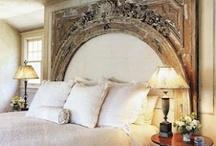 Bedroom decor - headboard / by Sue Ferguson