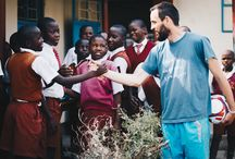 """People of Rusinga Island / In 2010, our founder, Halmen Balázs volunteered 4 months on a small beautiful island called Rusinga. He founded the """"Brick in Kenya"""" in 2010, our organisation has served over 300 students and their families. So over the years, we had an impact on more than 1000 locals."""