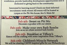 Chi Theta Phi Recruitment