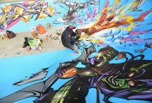 Street Art / Le Street Art - sous toutes ses formes - mis à l'honneur