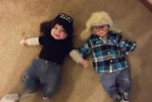 Twins first halloween / by Katie Shapley
