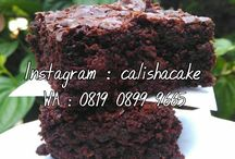 Brownies / Homemade by calishacake