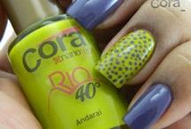 Nails / Inspirações para nails arts que encontro na net =) / by Alessandra Cerqueira