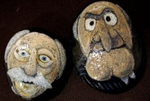 magdart painted rocks / My hand painted rocks and pebbles. great paperweight