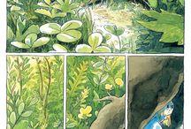 Graphic Novel Illustration.