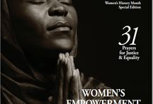 31 Prayers for Justice & Equality - Women Empowered through Prayer (Lott Carey) #WomensHistoryMonth / Engage in 31 Days of Global Prayer Partnership addressing the international plight of vulnerable and exploited women. By sharing our strength as intercessors and prayer partners, we can stand with sisters who struggle to survive around the world. http://lottcarey.publishpath.com/women-in-service