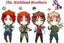 The Kirkland Brothers / This is a board where you can post anything that has to do England, Scotland, Ireland, or Wales. If you would like to join just comment or follow the board.