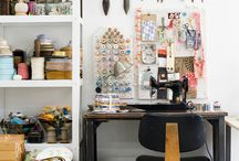 Home Office inspiration / Home office is the new black.
