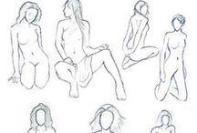 woman poses