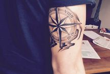 Compass tatto