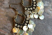 Jewelry by Copper Moon Studio / Handcrafted bohemian style jewelry / by Copper Moon Studio
