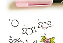 doodles flower