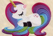 Princess/fairytale embroidery designs