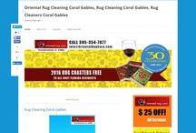 Oriental Rug Cleaning Coral