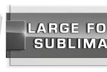 Large Format Sublimation Newsletter / Stay connected to us and get an update.