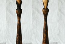 Wooden Female figure