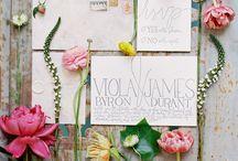 {WEDDINGS - Stationary} / Paper Goodness