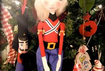 Christmas / Sewn doll- custom order