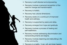 What Does Recovery Mean? / Recovery means different things to different people. Recovery is a journey not a destination. Each person has to find the path that they can follow.