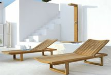 Timber loungers