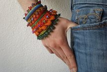 Crochet jewelry  / by Roxane Hackl Abel