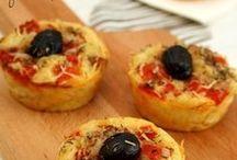 pitza muffins