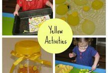 Preschool Color YELLOW Activities / by Patricia Ispas