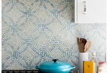 Tiles (kitchen, bathroom)